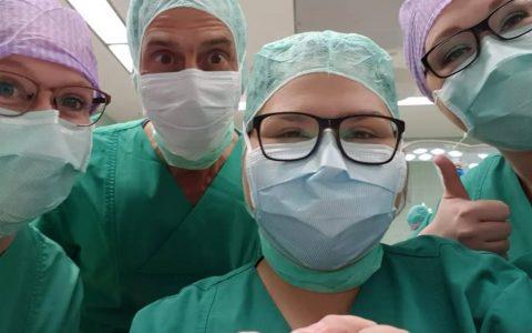 Operationen sind Teamarbeit